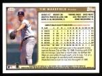 1999 Topps #333  Tim Wakefield  Back Thumbnail