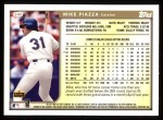1999 Topps #340  Mike Piazza  Back Thumbnail