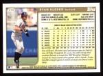 1999 Topps #370  Ryan Klesko  Back Thumbnail