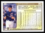 1999 Topps #378  Jeff Blauser  Back Thumbnail