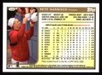 1999 Topps #388  Pete Harnisch  Back Thumbnail