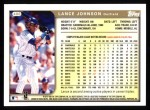 1999 Topps #406  Lance Johnson  Back Thumbnail