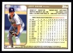 1999 Topps #410  Jeff Shaw  Back Thumbnail