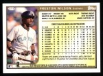 1999 Topps #411  Preston Wilson  Back Thumbnail