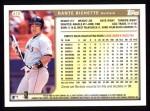 1999 Topps #415  Dante Bichette  Back Thumbnail