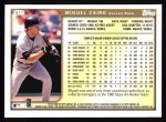 1999 Topps #417  Miguel Cairo  Back Thumbnail