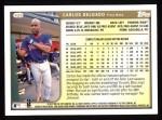 1999 Topps #420  Carlos Delgado  Back Thumbnail