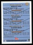 1999 Topps #426  Michael Cuddyer / Mark DeRosa / Jerry Hairston  Back Thumbnail