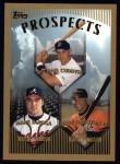 1999 Topps #426  Michael Cuddyer / Mark DeRosa / Jerry Hairston  Front Thumbnail