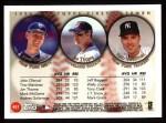 1999 Topps #451  John Olerud / Jim Thome / Tino Martinez  Back Thumbnail