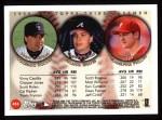 1999 Topps #453   -  Chipper Jones / Scott Rolen / Vinny Castilla All- 3B Back Thumbnail