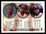 1999 Topps #458   -  Bernie Williams / Vladimir Guerrero / Greg Vaughn All- OF Back Thumbnail