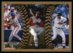 1999 Topps #458   -  Bernie Williams / Vladimir Guerrero / Greg Vaughn All- OF Front Thumbnail