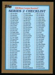 1999 Topps #462   Checklist Front Thumbnail