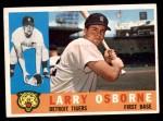 1960 Topps #201  Larry Osborne  Front Thumbnail