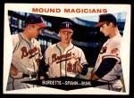 1960 Topps #230   -  Lew Burdette / Warren Spahn / Bob Buhl Mound Magicians Front Thumbnail