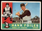 1960 Topps #77  Hank Foiles  Front Thumbnail