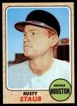 1968 Topps #300  Rusty Staub  Front Thumbnail