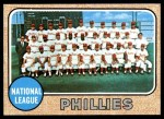 1968 Topps #477   Phillies Team Front Thumbnail