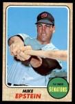 1968 Topps #358  Mike Epstein  Front Thumbnail