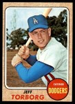 1968 Topps #492  Jeff Torborg  Front Thumbnail