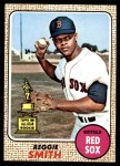 1968 Topps #61  Reggie Smith  Front Thumbnail