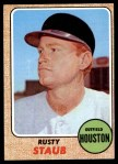 1968 Topps #300  Rusty Staub  Front Thumbnail