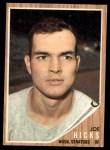 1962 Topps #428  Joe Hicks  Front Thumbnail