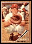 1962 Topps #434  Clay Dalrymple  Front Thumbnail