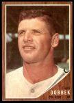 1962 Topps #267  Dan Dobbek  Front Thumbnail