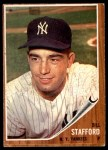 1962 Topps #570  Bill Stafford  Front Thumbnail