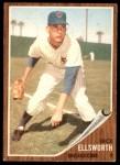 1962 Topps #264  Dick Ellsworth  Front Thumbnail