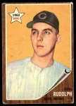 1962 Topps #224  Don Rudolph  Front Thumbnail