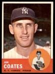 1963 Topps #237  Jim Coates  Front Thumbnail