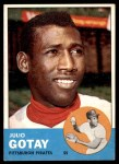 1963 Topps #122  Julio Gotay  Front Thumbnail