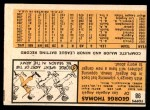 1963 Topps #54 TWO  -  Dave DeBusschere / Nelson Matthews / Harry Fanok / Jack Cullen 1962 Rookie Stars Back Thumbnail