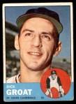 1963 Topps #130  Dick Groat  Front Thumbnail