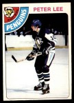 1978 O-Pee-Chee #244  Peter Lee  Front Thumbnail