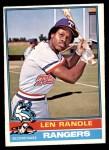 1976 O-Pee-Chee #31  Len Randle  Front Thumbnail