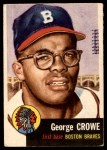1953 Topps #3  George Crowe  Front Thumbnail