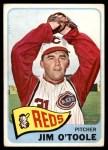 1965 Topps #60  Jim O'Toole  Front Thumbnail