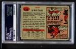 1957 Topps #138  Johnny Unitas  Back Thumbnail