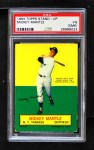 1964 Topps Stand Up  Mickey Mantle  Front Thumbnail