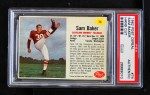 1962 Post #74  Sam Baker  Front Thumbnail