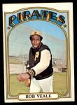 1972 Topps #729  Bob Veale  Front Thumbnail