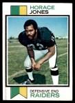 1973 Topps #261  Horace Jones  Front Thumbnail