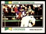 1973 Topps #359  Gene Washington   Front Thumbnail