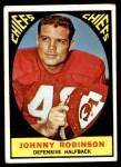 1967 Topps #65  Johnny Robinson  Front Thumbnail