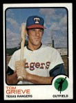 1973 Topps #579  Tom Grieve  Front Thumbnail