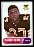 1968 Topps #56  Walter Roberts  Front Thumbnail